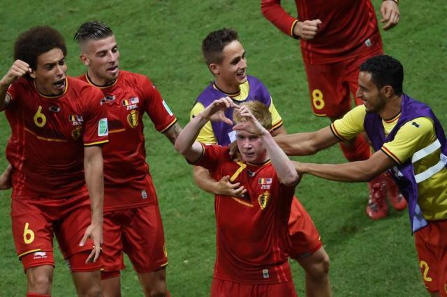 Em jogo emocionante, Bélgica vence os Estados Unidos na prorrogação e pega a Argentina PEDRO UGARTE/AFP
