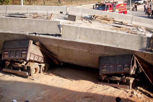 Engenheiro aponta risco de nova queda em viaduto de Belo Horizonte Lucas Prates/Hoje em dia/Estadão Conteúdo