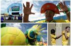 AO VIVO: siga o pré-jogo de Brasil x Colômbia Montagem sobre fotos de Fernanda Grabauska e Jefferson Botega/Agência RBS