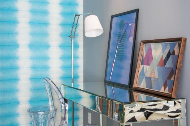 Toques de azul aquecem projeto de living com base neutra Carlos Edler,divulgação/Divulgação