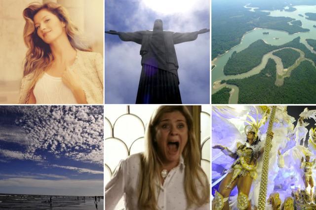Apesar do futebol: confira coisas em que o Brasil é o melhor do mundo Montagem/Montagem