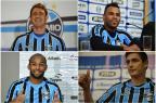 O que mudou no grupo do Grêmio durante a parada do Brasileirão Montagem sobre fotos/BD ZH