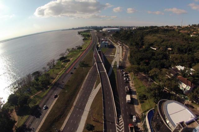 O que deu certo: avenidas Beira-Rio e Padre Cacique Diego Vara/Agencia RBS