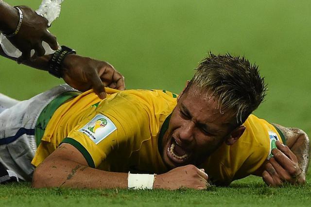 Neymar garante que estará 100% na reapresentação do Barcelona EITAN ABRAMOVICH/AFP