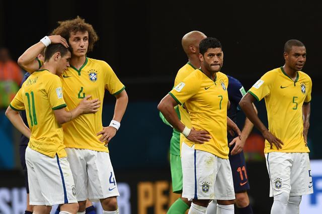 Brasil perde para a Holanda e termina a Copa em 4º lugar VANDERLEI ALMEIDA/AFP