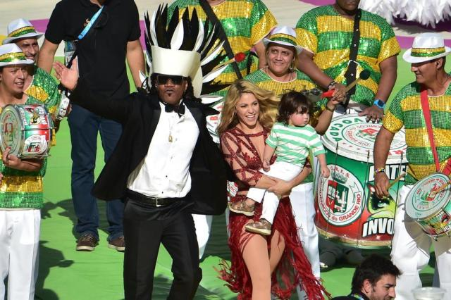 O melhor e o pior da cerimônia de encerramento do Mundial NELSON ALMEIDA/AFP