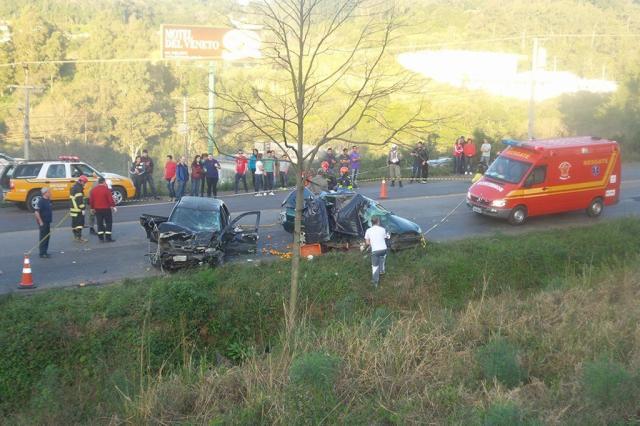 Polícia identifica vítimas do acidente na RSC-470 em Garibaldi Bruno Mezzomo / Leouve / divulgação/