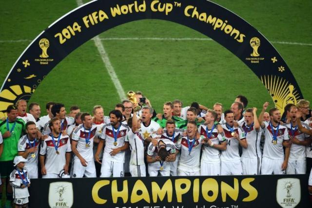 Alemanha é a primeira seleção europeia campeã nas Américas CHRISTOPHE SIMON/AFP
