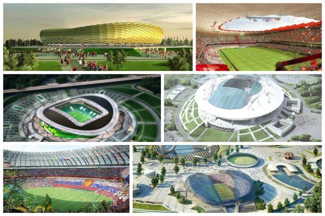 Rússia quer ter estrutura pronta um ano antes da Copa de 2018 Divulgação/