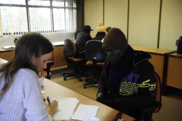 Mais 38 ganeses chegaram a Caxias do Sul desde o sábado passado Roni Rigon/Agencia RBS