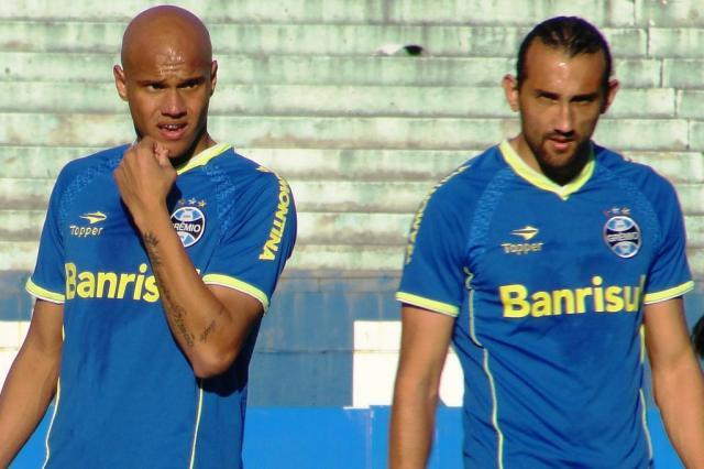 """Grêmio aposta em elenco """"sem reservas"""" para a disputa do Brasileirão Matheus Beck/Agencia RBS"""