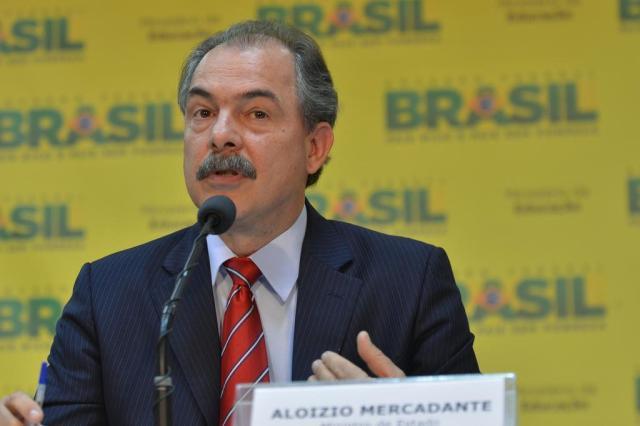 Para Mercadante, governo não deve intervir no futebol brasileiro Elza Fiúza/Agência Brasil