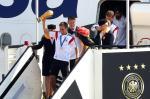 Seleção alemã desembarca em Berlim