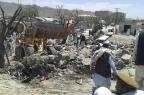 Atentado suicida deixa mais de 40 mortos no Afeganistão KHANAZGUL FARHANG/AFP