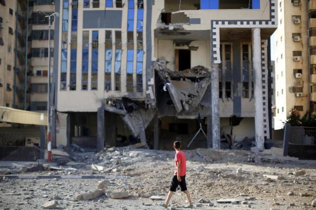 Ataques israelenses são intensificados na Faixa de Gaza Thomas Coex/AFP
