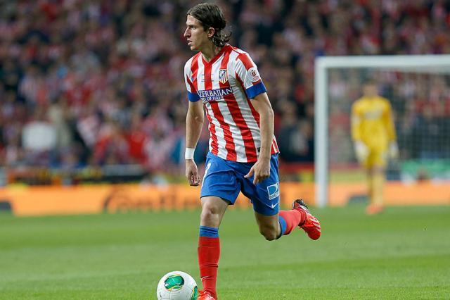 Filipe Luís troca o Atlético de Madrid pelo Chelsea Atlético de Madrid/Divulgação/
