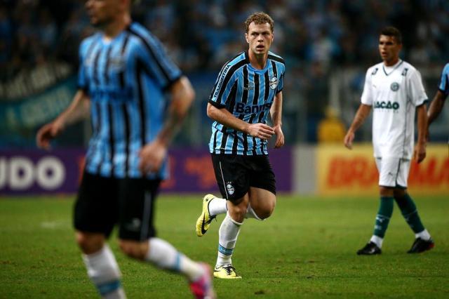 """""""Azarado"""", Lucas Coelho se diz pronto para ser titular no Grêmio Félix Zucco/Agencia RBS"""