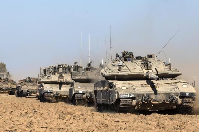 Leia o comunicado do governo de Israel sobre a invasão de Gaza JACK GUEZ/AFP