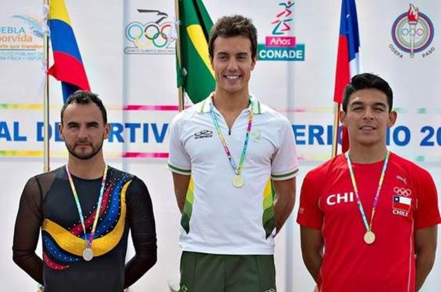 Marcel Stürmer conquista ouro do Festival Olímpico Pan-Americano Divulgação/