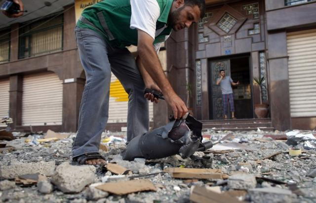 Israel prossegue com ofensiva terrestre em Gaza THOMAS COEX/AFP/