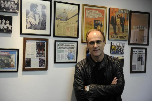 Paulo Brito comemora a recuperação Marcelo Oliveira/Agencia RBS