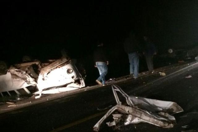 Duas pessoas morrem após acidente na BR-290, em Minas do Leão Cristiane Zinelli/Arquivo pessoal
