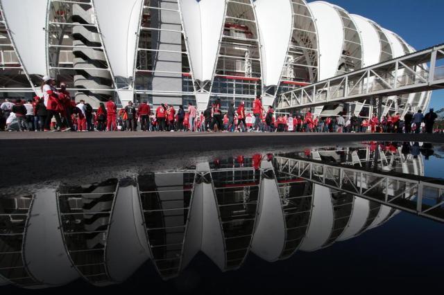 Inter baixa o preço dos ingressos para o jogo contra o Ceará Ricardo Duarte/Agencia RBS