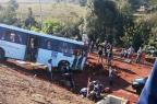 Bebê morre após acidente entre ônibus e carro em Gravataí Alexsandro Silva/Divulgação