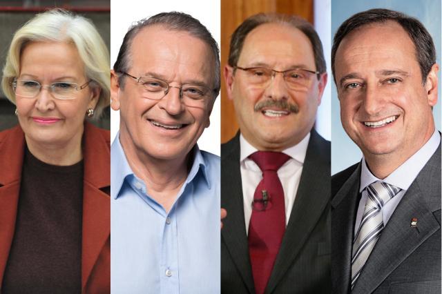 Nos planos de governo sobram promessas e falta dizer como pagar Montagem sobre fotos de Mauro Vieira e Divulgação/Agência RBS
