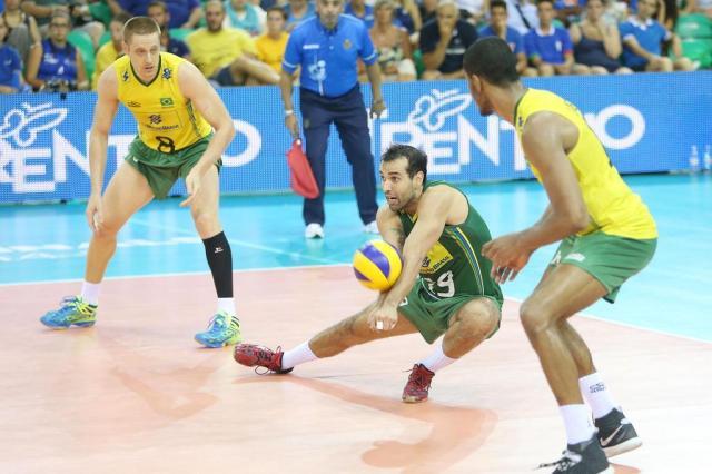 Vice da Liga Mundial, Brasil abre folga como primeiro do ranking mundial FIVB/Divulgação