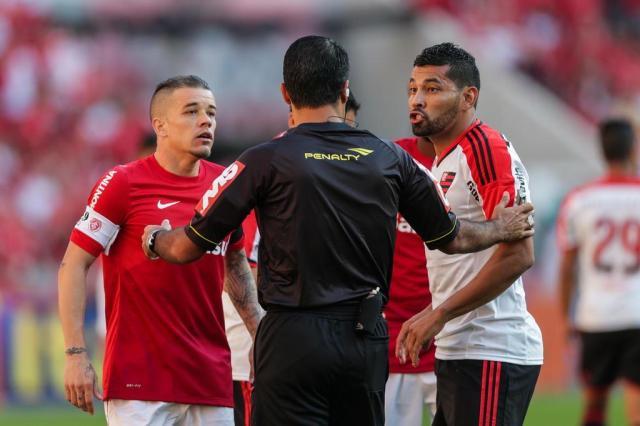 Flamengo pede e Inter vai ceder imagens para apurar agressão a André Santos Félix Zucco/Agencia RBS