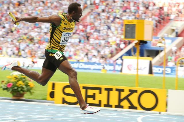 """""""Estou ansioso para voltar ao Rio de Janeiro"""", revela Usain Bolt Alexander Nemenov/AFP"""