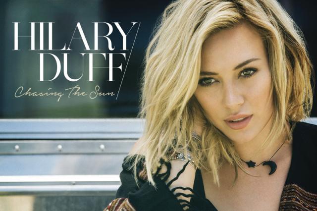 Hilary Duff divulga seu novo single após sete anos  Divulgação/