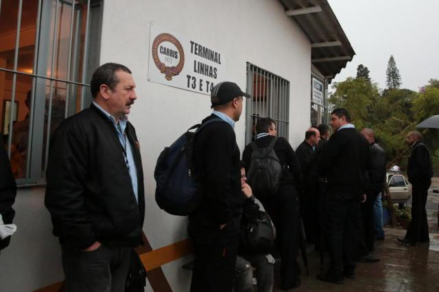 Motoristas retomam serviço das linhas T3 e T4, em Porto Alegre Ricardo Duarte/Agencia RBS