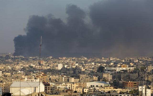 Hamas diz que suspensão de voos para Israel é uma grande vitória MAHMUD HAMS / AFP/