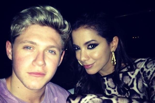 """""""Sinto sua falta"""", diz integrante do One Direction para Anitta Reprodução/Instagram"""