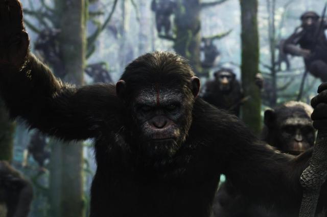 """Humanos e macacos disputam os restos do mundo no novo """"Planeta dos Macacos"""" Fox Film/Divulgação"""