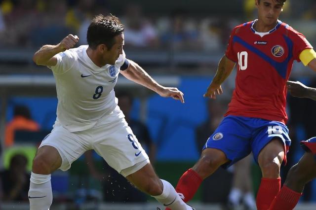 Lampard é anunciado como reforço pelo New York City para a temporada de 2015 GUSTAVO ANDRADE/AFP