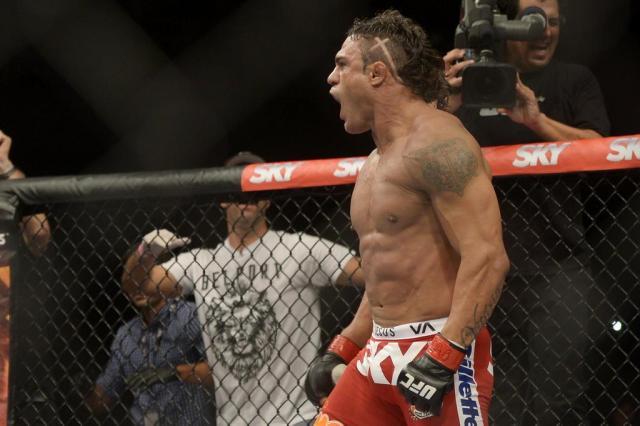 Aliviado, Belfort comemora liberação para luta contra Weidman no UFC 181 Alexandre Loureiro/Inovafoto