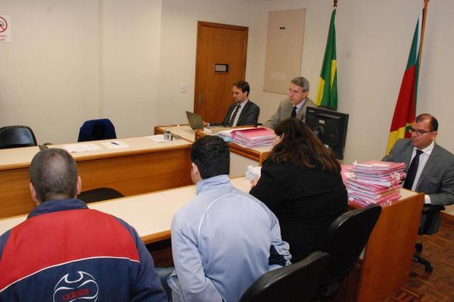 Testemunhas e réus são ouvidos em audiência sobre a morte de publicitário Imprensa TJRS/Henrique Dellazeri