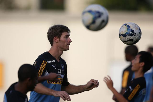 """Bolatti comemora fase no Botafogo: """"Momento lindo"""" Satiro Sodré/SSPress/Botafogo/Divulgação/"""