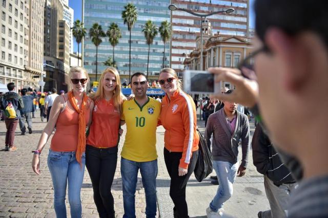 Copa do Mundo leva a recorde os gastos de turistas estrangeiros no Brasil Félix Zucco/Agencia RBS