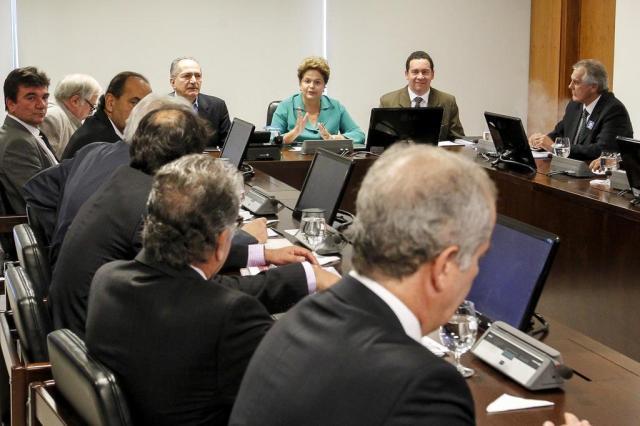 Após reunião de Dilma com dirigentes de clubes, governo acena com renegociação Roberto Stuckert Filho/Presidência da República/Divulgação