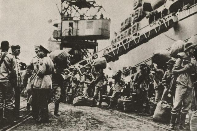 Sete décadas atrás, soldados brasileiros começavam a sua saga na Itália Ver Descrição/Reprodução