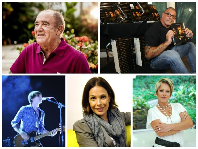 Cinco famosos que já escreveram um livro, mas você não lembra Montagem/Banco de dados
