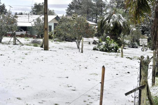 Por que neva mais em Santa Catarina do que no Rio Grande do Sul planalto norte,neve,gelo/Agencia RBS