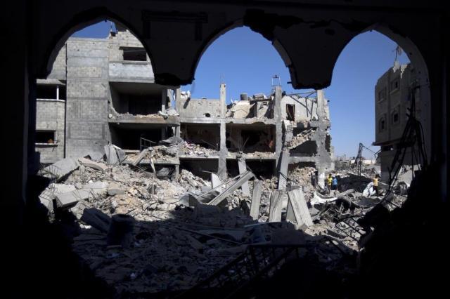 Israel aceita ampliar cessar-fogo por mais quatro horas Mahmud Hams/AFP