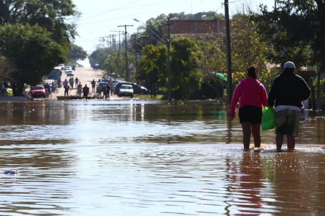 RS registra os cinco maiores volumes de chuva em julho no Brasil Tadeu Vilani/Agencia RBS