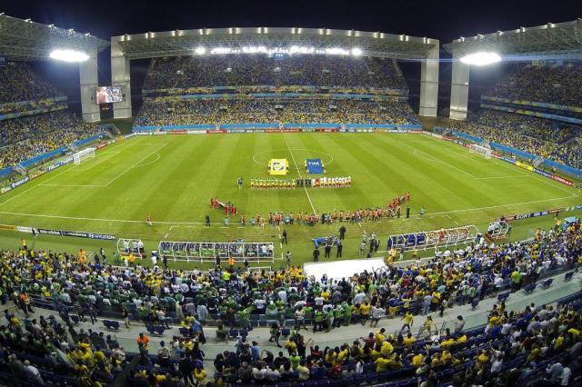 Após a Copa do Mundo, Arena Pantanal registra recorde de público da Série D LUIS ACOSTA/AFP