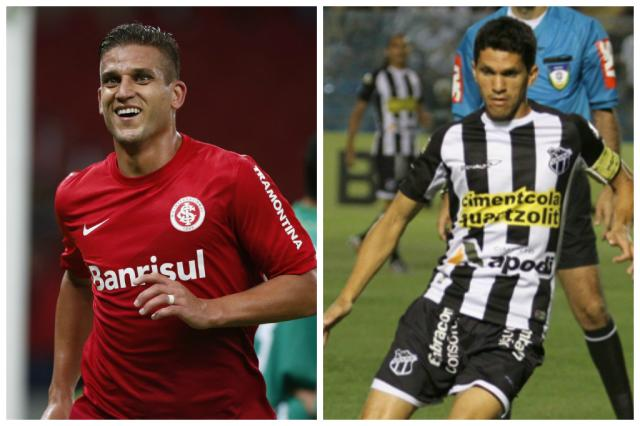 Líder da Série B, Ceará desafia o Inter no Beira-Rio Montagem sobre fotos/Agência RBS e Divulgação/Cearásc.com